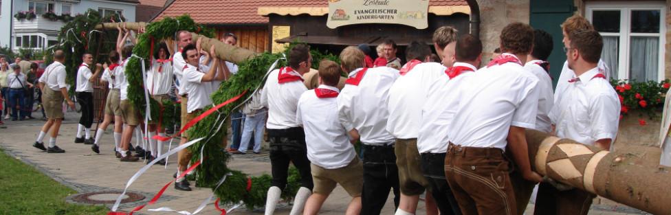 Rückersdorfer Kirchweihprogramm 2014